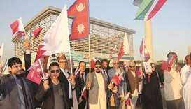 Nepali community participates in Friendship Parade