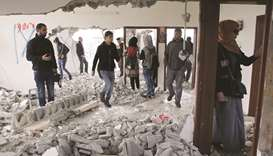 Army destroys Palestinian fighter's West Bank home