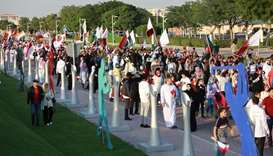 A view of the Friendship Parade at Aspire Zone (supplied picture).