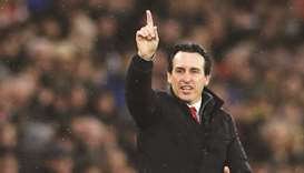 Emery urges Arsenal players to show passion against Spurs