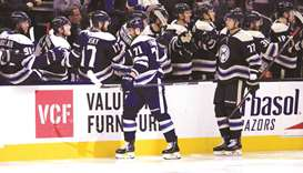 Foligno gives Blue Jackets win over Golden Knights