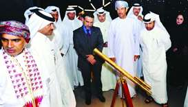 Dr Khalid bin Ibrahim al-Sulaiti, along with several dignitaries and diplomats, inaugurated the Al T