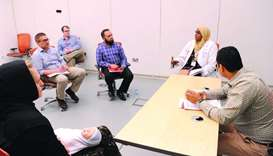 Weill Cornell Medicine-Qatar (WCM-Q) training for doctors.
