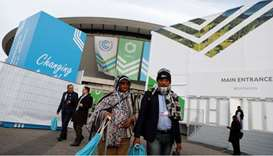 Delegates arrive for the COP24 UN Climate Change Conference 2018 in Katowice