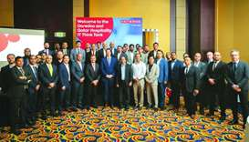 Participants of the annual 'Qatar Hospitality IT Think Tank' conference