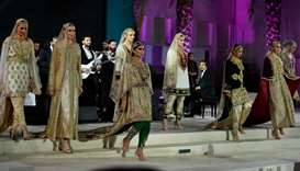 A fashion show featuring latest trends in the industry was among the highlights of Shop Qatar's offi