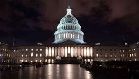 The US Capitol is seen ahead of a possible government shutdown, in Washington