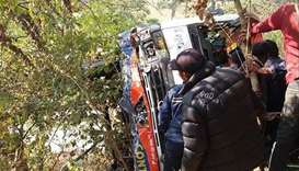 Nepal  bus crash