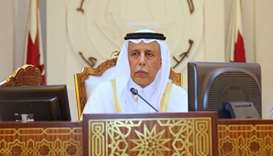 HE Speaker of the Council Ahmed bin Abdullah bin Zaid Al Mahmoud