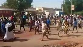 Sudan crackdown