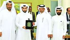 The top three projects for female and male students were awarded trophies and prizes at the end of t