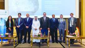 Panellists and other experts and officials at HMC's 8th Annual Research Day.