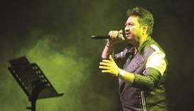 ON SONG: Bollywood singer Kumar Sanu