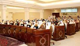 Shura Council discusses three draft laws