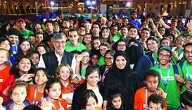 Kailash Satyarthi interacts with youngsters at Ajyal Flim Festival