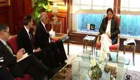 Pakistan PM meets US peace envoy, pledges help on Afghan war