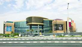 The QR12mn eight-screen setup, due to be placed around the mall, will cover a combined area of 800sq