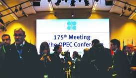 The conference of the Organisation of the Petroleum Exporting Countries in Vienna, Austria