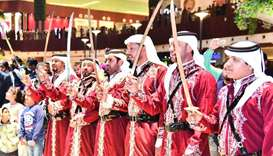 File picture of Qatar National Day celebrations at Mall of Qatar.
