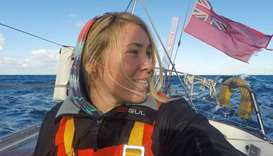 Chinese ship arrives to rescue British solo yachtswoman in Pacific