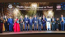 Amir, Malaysia premier, UNPDC director honor winners of Anti-Corruption Award