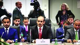 HE Saad bin Sherida al-Kaabi at Opec meet