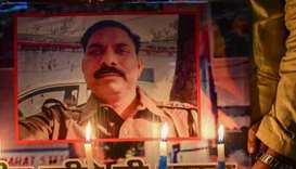 Indian police chief removed after cop killed in cow-related violence