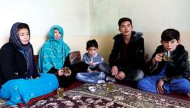 Afghan 'Messi boy' forced to flee home