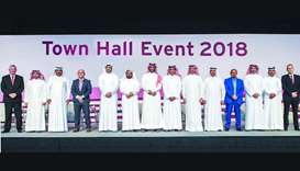 Qatargas holds 1st post-integration Town Hall session