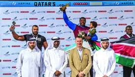 Christopher Oketch retains crown as 'Qatar's Strongest Man'