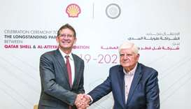 Qatar Shell renews Al-Attiyah Foundation membership for two years