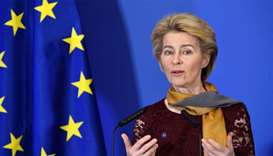 New EU Commission President Ursula von der Leyen sworn in