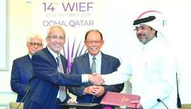 Qatar sealing a deal to host Islamic economic forum in Qatar in 2020.