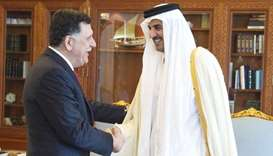 Amir meets Libyan official
