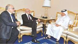 Minister of State for Foreign Affairs meets Doha Forum delegates