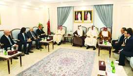 Shura Council, Italian parliament ties discussed