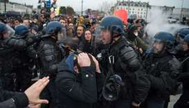 Strikes, protests as French unions seek momentum to halt pension reform
