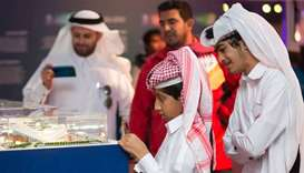 SC showcases Qatar 2022 progress at Darb Al Saai