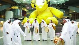 Hamad International Airport celebrates Qatar National Day