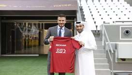 Qatar 2022 will be a dream for players and fans: Beckham