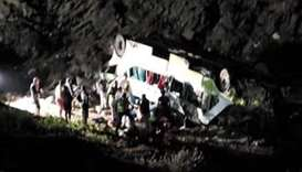 At least 10 dead in bus accident in northern Chile