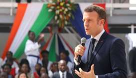 Macron says 33 terrorists 'neutralized' in Mali