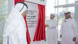 HE the Prime Minister and Minister of Interior Sheikh Abdullah bin Nasser bin Khalifa Al-Thani inaug