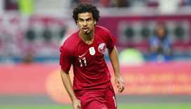 Qatar's Akram Afif named AFC Asian Player of the Year