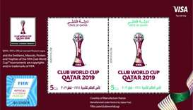 Qatar Post issues FIFA Club World Cup Qatar stamps