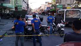 Series of blasts rocks southern Philippines, more than 20 hurt