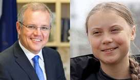 Australian PM dismisses criticism from Greta Thunberg