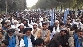 Taliban abducts 27 members of peace march in west Afghanistan