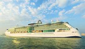 Jewel of the Seas' maiden call gives a fillip to Qatar's cruise tourism
