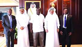 HE the Attorney-General Ali bin Fetais al-Marri on Wednesday met the Minister of Interior of Kenya D